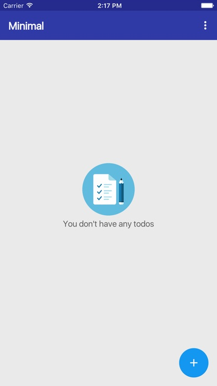 Minimal TODO screenshot-0