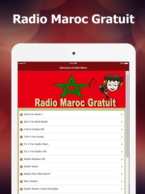 Radio Maroc Gratuit: Nouvelles, musique et sports-ipad-0