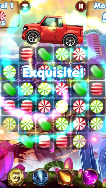 Candy Cars - fun games for kids & car games race screenshot-4