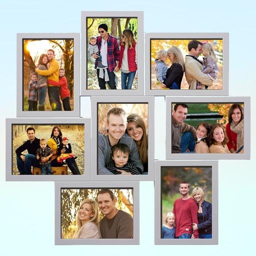 Family Photo Frame Editor :Family Square Pic Frame