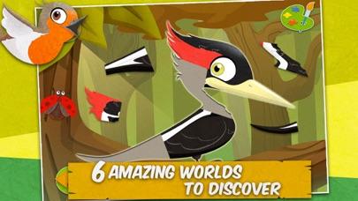 鳥類: 知育 ぱずる 子供のためのパズルとカラーのおすすめ画像3