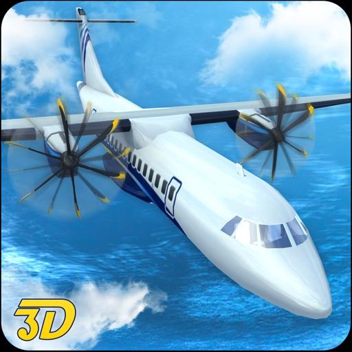 Пилот самолет симулятор полет посадки 3D аэропорт