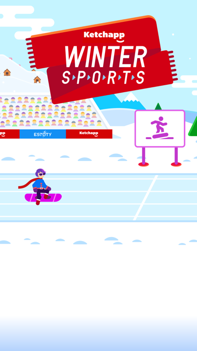 Ketchapp Winter Sports screenshot 1