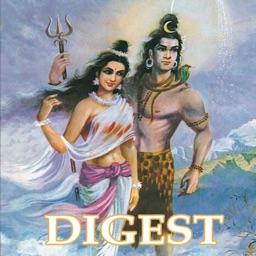 Shiva Parvathi and Ganga Digest-Amar Chitra Katha