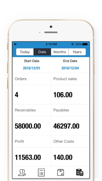 Order Tracker-Sales Manager & Inventory Taking Now screenshot-1