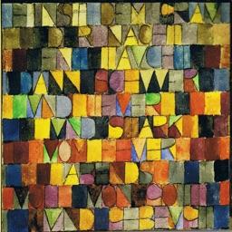 Paul Klee Artworks Stickers