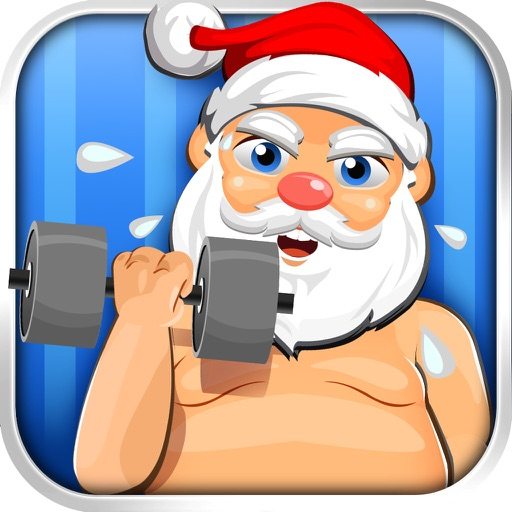 Santa Gets Fit for Christmas - Running Fat Games