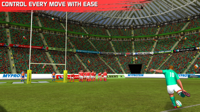 Screenshot from Rugby Nations 16