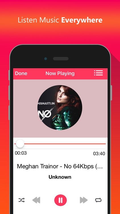 Cloud Music - Offline Mp3 Music Audio Player app image