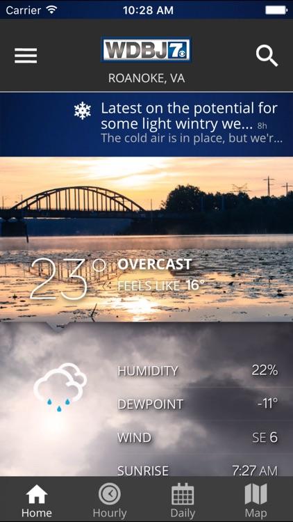 WDBJ7 Weather & Traffic