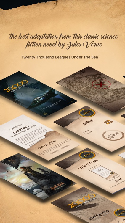 20000 Leagues Under the Sea - Interactive Fiction screenshot-4