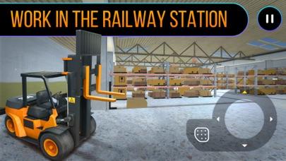 Railway Forklift Simulator 3D-0
