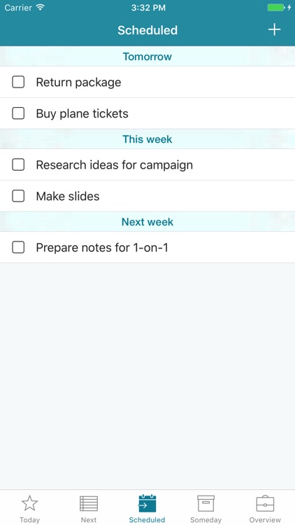 Mighty - Minimalistic task manager