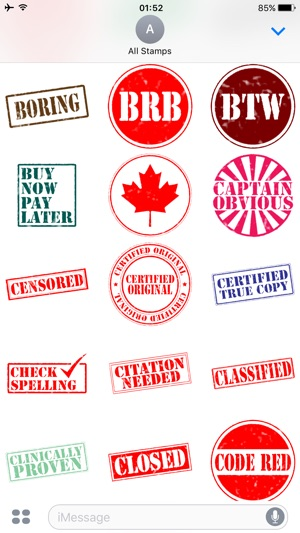 All Stamps Complete Rubber Stamp Collection