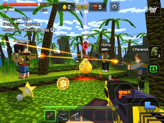 Pixelmon shooting - online multiplayer shooter # 1 для iPad