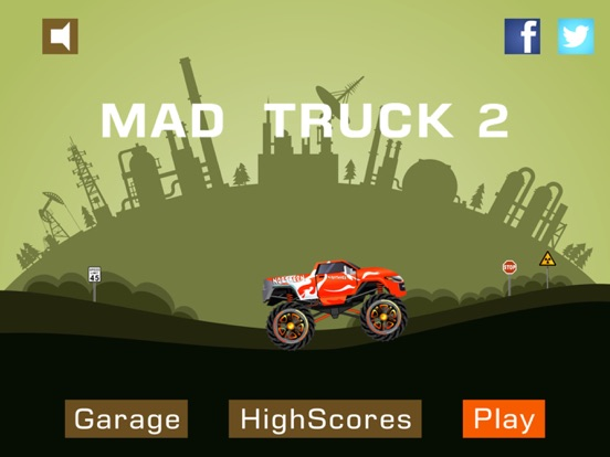 Screenshot #4 pour Mad Truck 2 -- Driving Survive