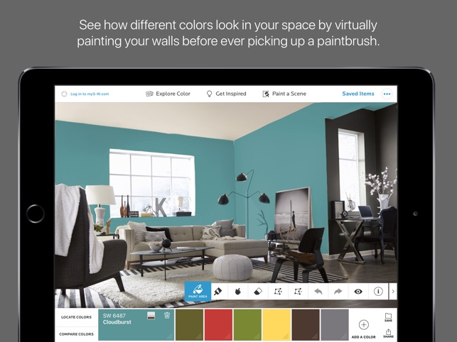Preview Paint Colors On Walls App