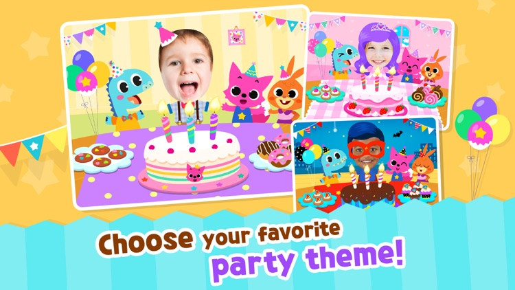 PINKFONG Birthday Party screenshot-3
