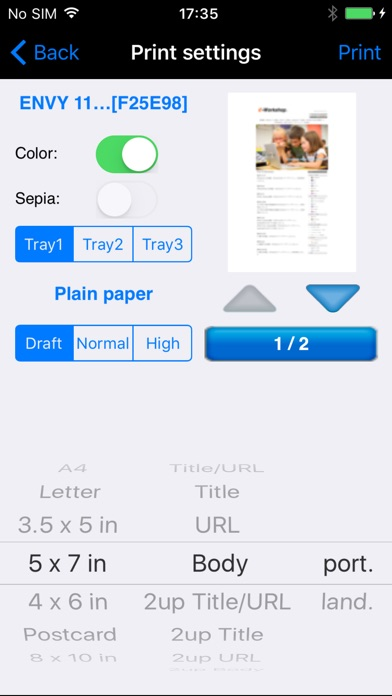 Screenshot for ePrint in Philippines App Store