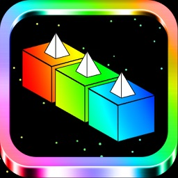 BLOCKY COLOR 6 - Cube Run Isometric Game