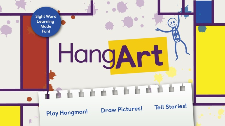 HangArt: Play Hangman, Draw Pictures, Tell Stories screenshot-0