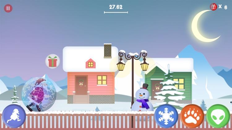 Santa Run - Christmas Rescue screenshot-3