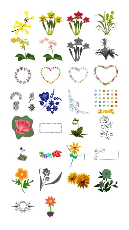 Flower Sticker Pack!