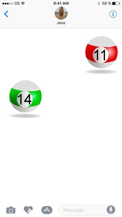 Billard Sticker Pack!Screenshot von 2