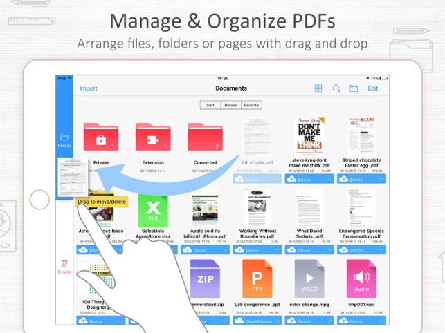 Pdf reader document expert on the app store screenshots fandeluxe Images