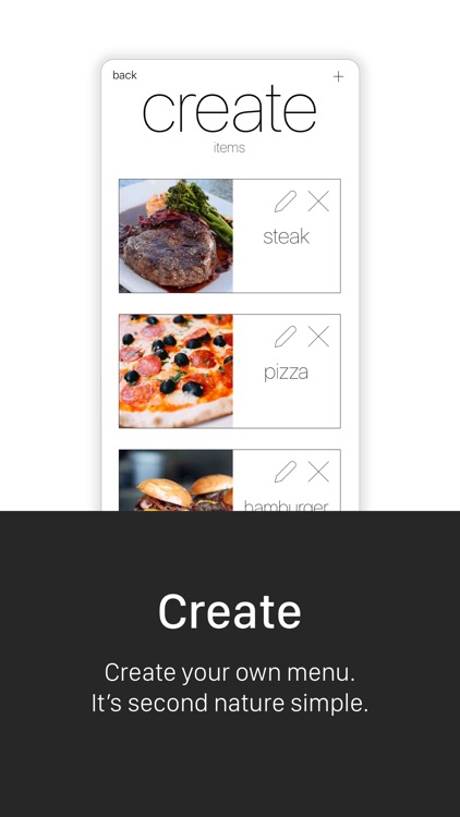 Menu Exp - Restaurant Menu Maker / Creator app image