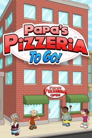 Papa's Pizzeria To Go! screenshot 1