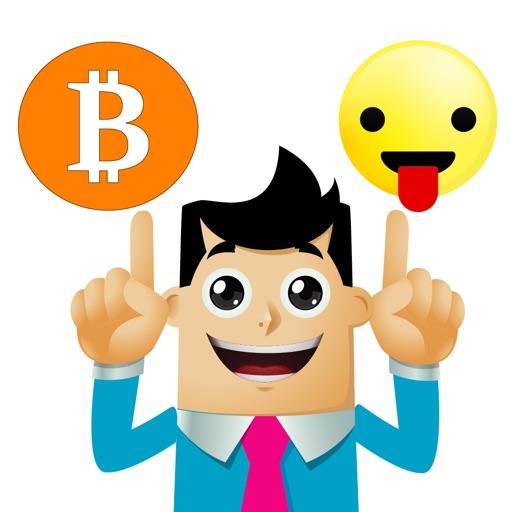 ビットコイン スタンプ-BitcoinMoji