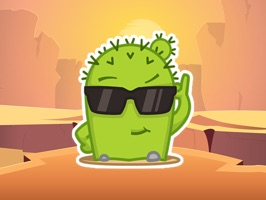 Cool Cactus Emotions Stickers Pack for iMessage