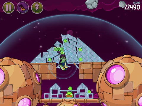Angry Birds Space HD Screenshot