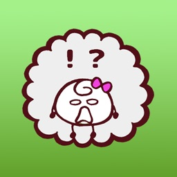 Tiki The Happy Egg Girl iMessage Stickers