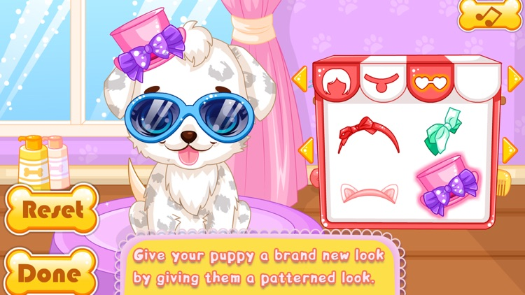 Makeover Games:Puppy Makeover Hair Salon screenshot-4