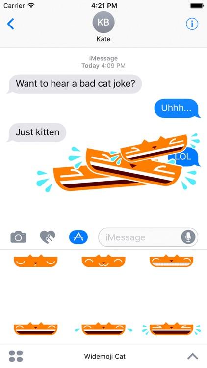 Widemoji Cat