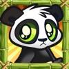 Cute Baby Panda Jump