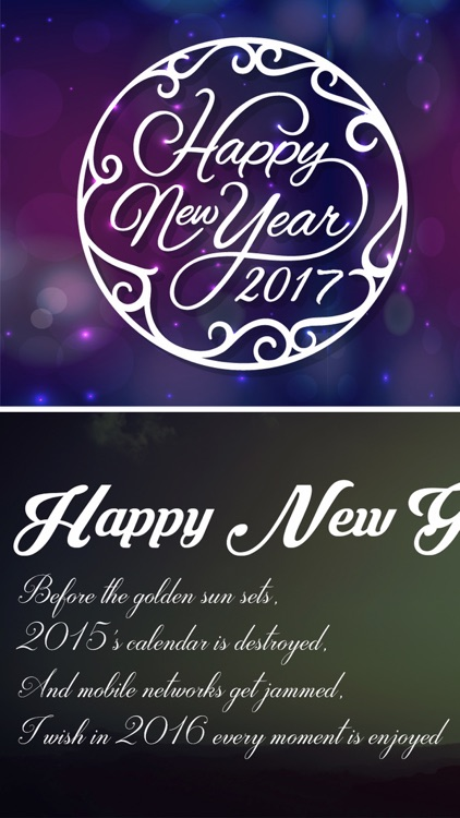 New Year Wallpapers - Christmas Countdown Cards screenshot-4