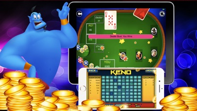 Magic Casino Keno Blackjack screenshot 2