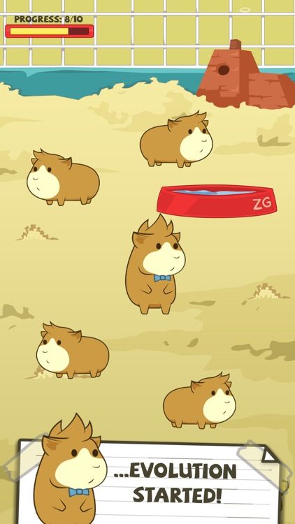 Guinea Pig Evolution - Breed Mutant Hampster Pets! screenshot-1