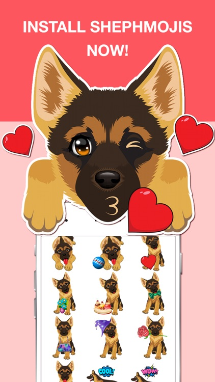 German Shepard Emoji screenshot-3