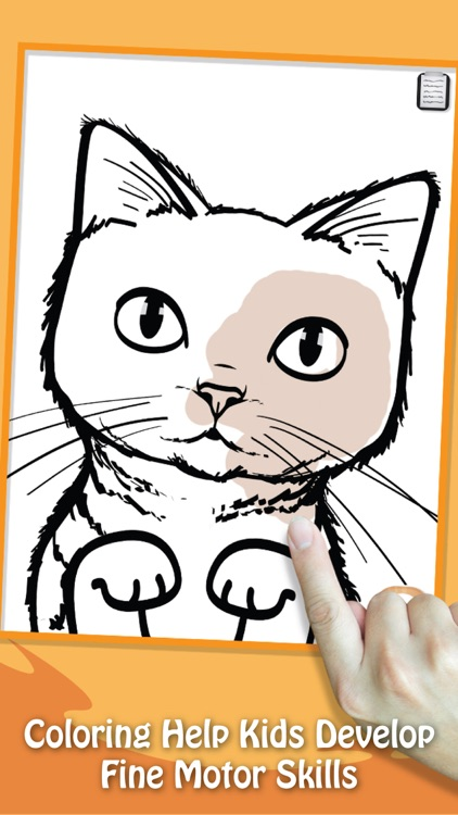 Paint & Play Cats, Coloring Book For Kids screenshot-3