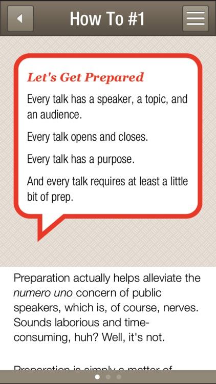 SmartMouth Public Speaking Toolkit screenshot-3
