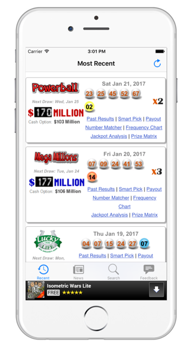 Top 10 Apps like Lotto Results - Lottery in US in 2019 for