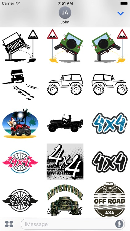 Its a Jeep Thing Sticker Pack screenshot-4