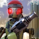 Robo vs Mafia Wars - guerra Robot lucha hierro fue icon