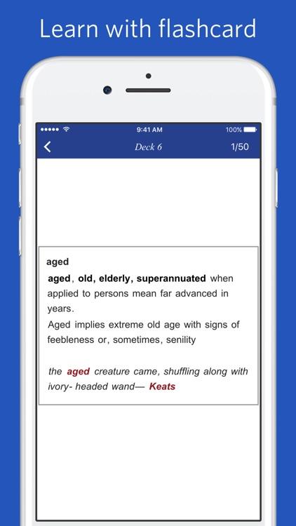 Thesaurus with Discriminated Synonym screenshot-4