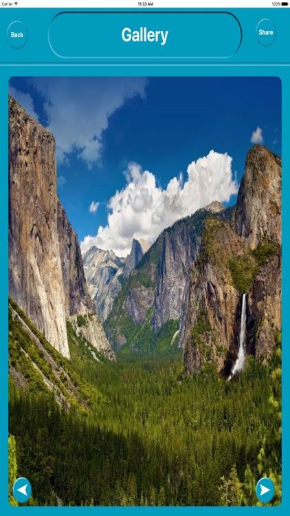 Yosemite National Park USA Offline Maps Navigation screenshot-4