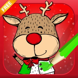 Christmas Coloring Book - Draw Something Fun